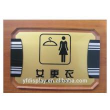 Acrylic Doorplate, Display Direct Board, Wall Mounted Hotel Sign Board