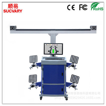 High Accuracy Cloud 3D Wheel Aligner