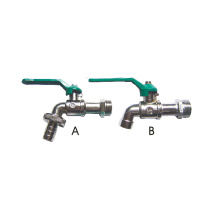 Водопроводный кран, легированный цинком