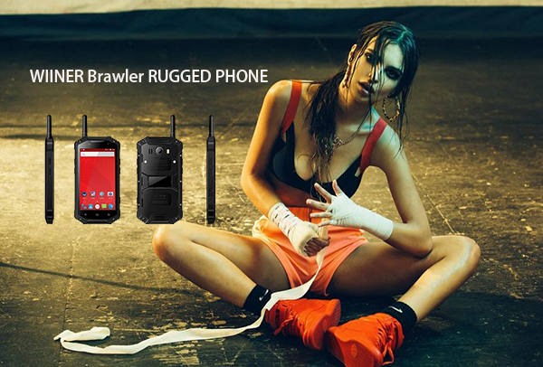 WIINER Brawler RUGGED PHONE