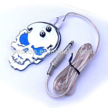 New arrival skulls designed tattoo power supply footswitch /foot pedal