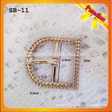 SB11 Accessoires Lady Sandal Petite boucle de chaussure en métal