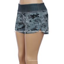 Camo womens gym shorts in fashion crossfit shorts custom logo cargo shorts