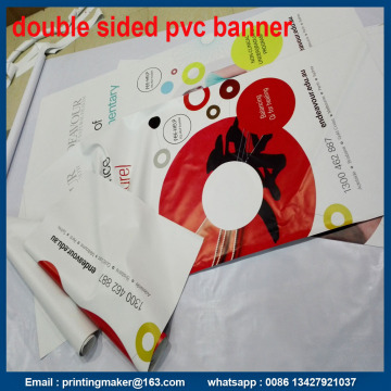 18oz PVC Banners with Two Sides Graphic Printing