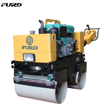 Discount Price Manual Small Compactor Road Roller With 9HP Engine