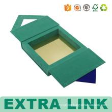 Wholesale New Book Shape 2 slots Cardboard Travel Soap Box Design