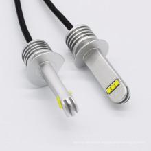 Gran calidad de aluminio completo diseño 12 v 24 v luz de niebla auto F1 H1 coche llevó bombillas