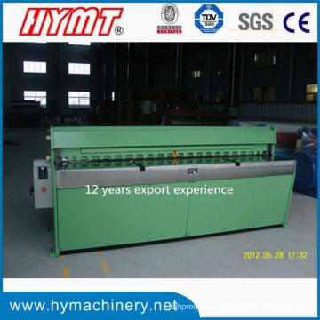 QH11D-3.5x1250 Hochpräzise Aluminiumplatten-Guillotinen-Schermaschine