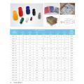 RHI staubdicht Vinyl Terminal Cap für Spaten-Terminal, Kabel isoliert Teleflex .soft PVC-Wanten für Ring-Terminal