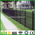 high quality powder coated tubular zinc steel garden fence from Anping Manufacture