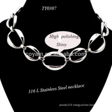 2015 Simple Fashion Silver Plated Chains Necklace For Women