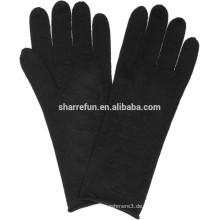 Klassisches design 100% kaschmir handschuhe fabrik großhandel