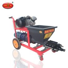 Máquina de pulverización de mortero de cemento Máquina de pulverización de masilla de yeso