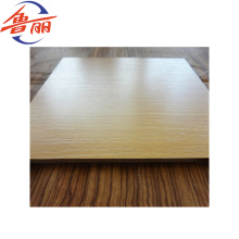 18mm walnut veneer MDF board for furniture