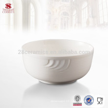 Direct Wholesale Round White Ceramic Bowl