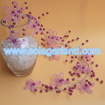 Garland Bicone Crystal filo perle perline Branch