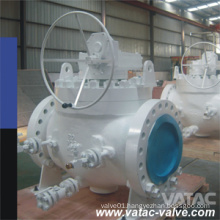Full Bore RF Flanged Trunnion Mounted Top Entried Ball Valve