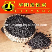 Carvão ativado com casca de porca de 12 * 40 mesh para tratamento de água