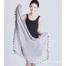 100%Polyester Yarn Dye Square Scarf