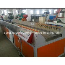 PVC Window Frame Profile Extrusion Production Line