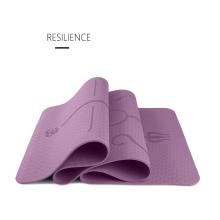 Eco Friendly Organic Custom Print Yoga Mat Anti Slip Non-slip Yoga Mat