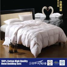 Дешевые белое перо утка вниз одеяло гостинице домашнего использования развлечения