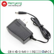 UL FCC DOE Niveau VI Adapté 12V1a AC DC Adapter