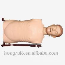 Mannequin de soins infirmiers à ultrasons et à trachéa avancé ISO