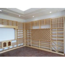 Eco-Friendly Bamboo Wine Rack 002