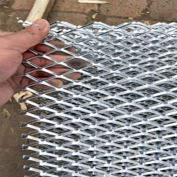 Small Hole Aluminium Expanded Metal Grill Wire Mesh