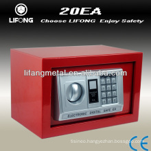 Cheap colorful digital home safe box with small size