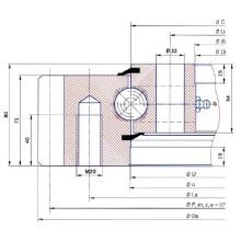 Torriani External Gear Slewing Gear E. 750.20.00. B