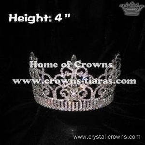 4inch Crystal Pageant Crowns
