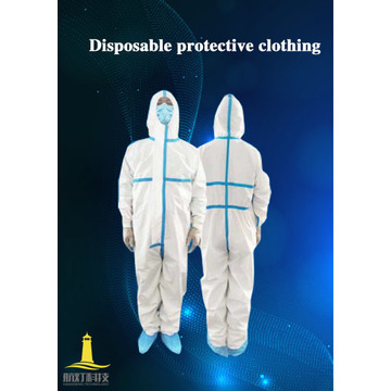 Combinaison jetable Isolation Vêtements de protection chirurgicaux