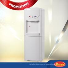 china plástico frio e quente mini-dispensador de água com geladeira