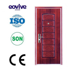 Surface finishing cheap security steel door