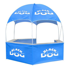 Full printing customized logo advertising promotional event dome tent with table