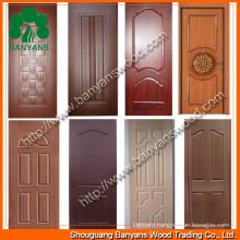 Best Quality Melamine Door Skin/3.2mm Melamine Door Skin