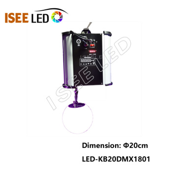 Discothèque Business DMX Kinetic LED Ball