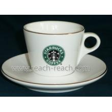Popular 300ml Ceramic Coffee Mug (R-3045)