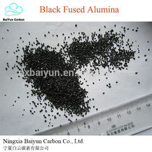La mejor dureza de venta del fabricante es la piedra de corindón de óxido de aluminio fundido negro