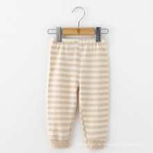 100% Bio-Baby-Baby-Säuglings-Streifen-Hosen