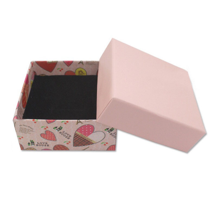 Matt Laminated Custom Pendant Jewelry Packaging Boxes