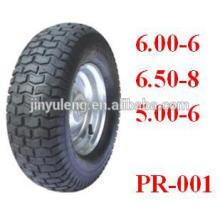 500-6, 600-6, 650-8 ruedas para cortacésped, carretilla eléctrica, ATV