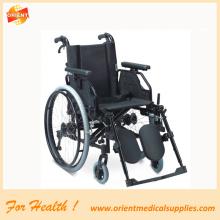 Leichter Aluminium-Klapprollstuhl für Behinderte