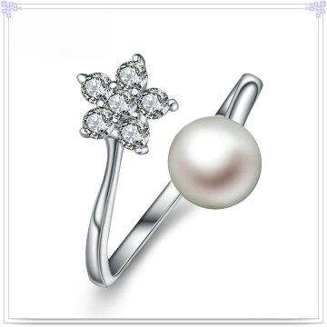 Fashion Ring Pearl Jewelry 925 Bijoux en argent sterling (CR0067)