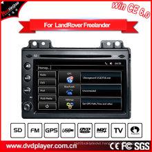 7 Inch Car GPS Navigation Land Rover Freelander 2 Car GPS Navigator with 2004-2007 DVB-T Tuner