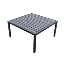 Vente chaude moderne PS table carrée en bois