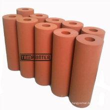 Silicone le rouleau en caoutchouc rouge pour Machine de transfert de chaleur