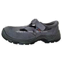 Sandales Casual Style daim cuir sécurité travail chaussures (HQ-027)